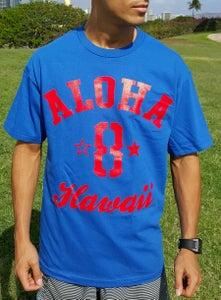 Image of Aloha 8 (blue/red)