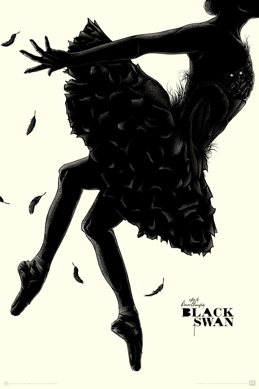 MONDO BLACK SWAN - Regular