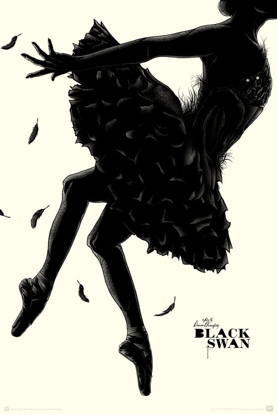 Image of MONDO BLACK SWAN - Regular