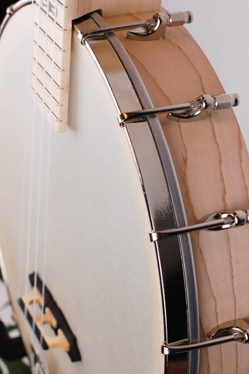 Image of Deering Goodtime Tenor Banjo Ukulele (CASE INCLUDED)