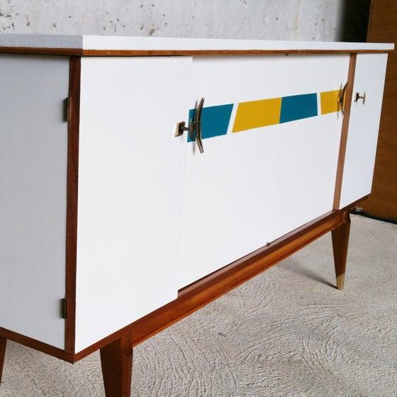 Image of Enfilade tricolore Vintage