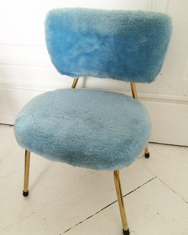 Image of Chaises bleu