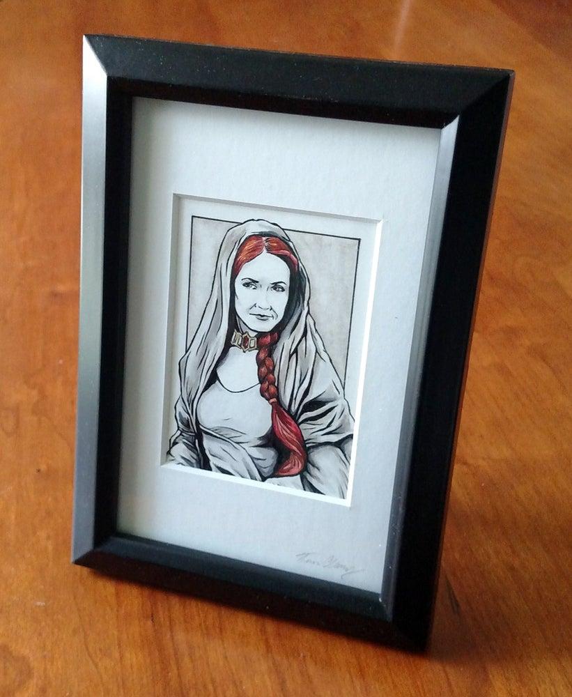 Image of Melisandre Original Art Card (Framed)