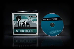 "Image of ""All These Evolutions"" CD (2013)"