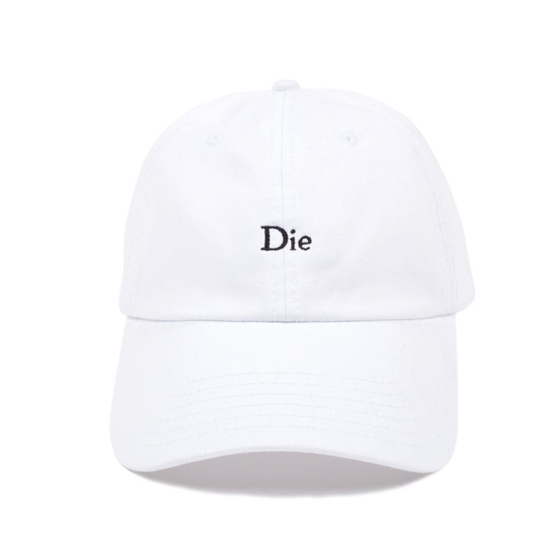 Image of Die Low Profile Sports Cap - White