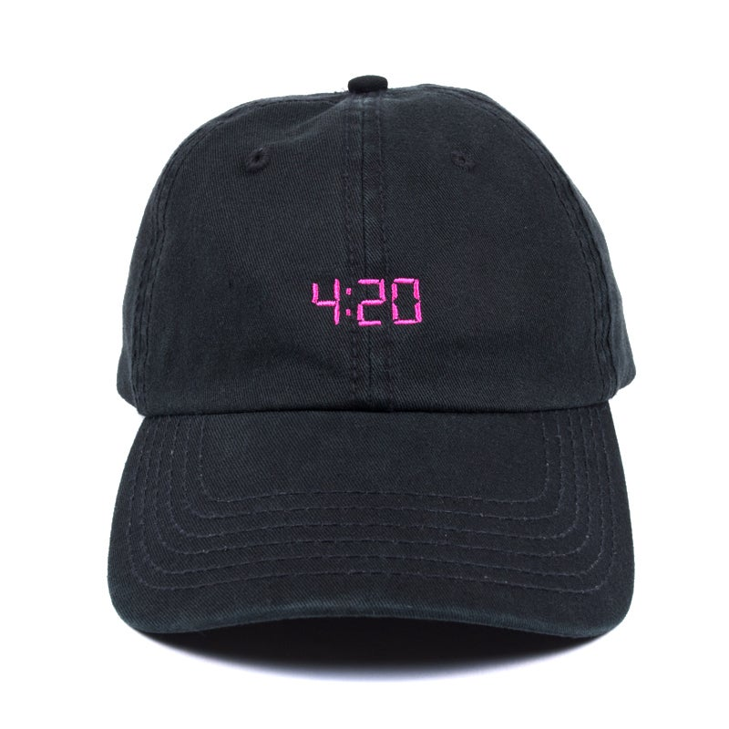 Image of 420 Low Profile Sports Cap - Black