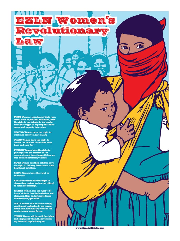 Image of EZLN Women's Revolutionary Law (2010)