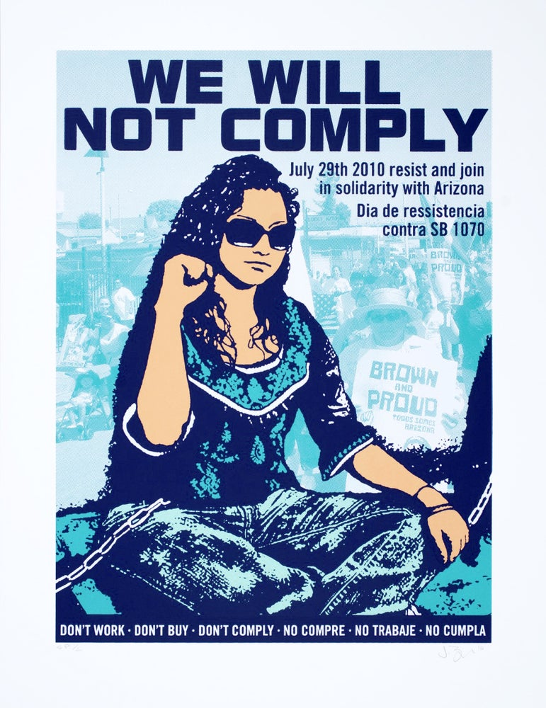 Image of We Will Not Comply (2010)