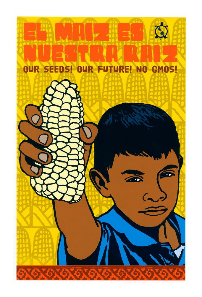 Image of Corn People (Screenprint 2014)