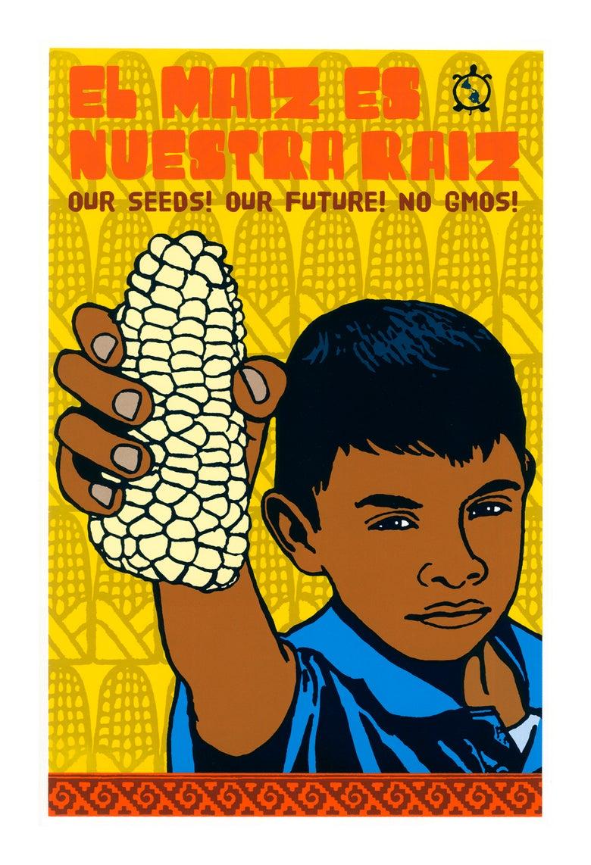 Image of Corn People (Screenprint 2014)