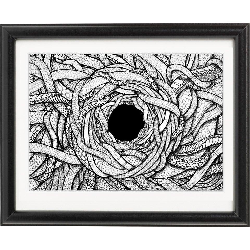 Image of Hole - Ink