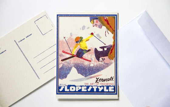 Image of Slopestyle Postcard