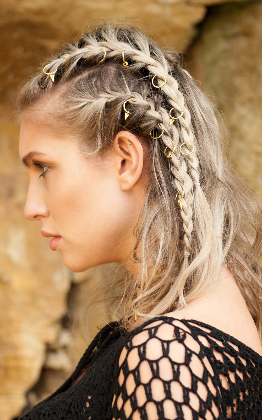 Image of Aries Hair Rings