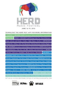 Image of Herd Fest 2016 ALL ACCESS WRISTBAND