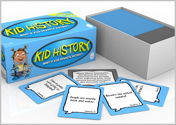 Image of Kid History Party Game