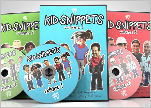 Image of Kid Snippets 3 DVD Set - Volumes 1-3