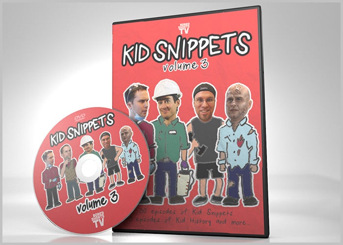 Image of Kid Snippets - Volume 3 DVD