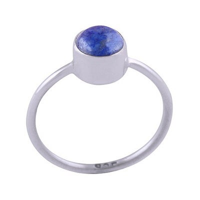 Image of Sterling Silver & Lapis Lazuli Lo Ring