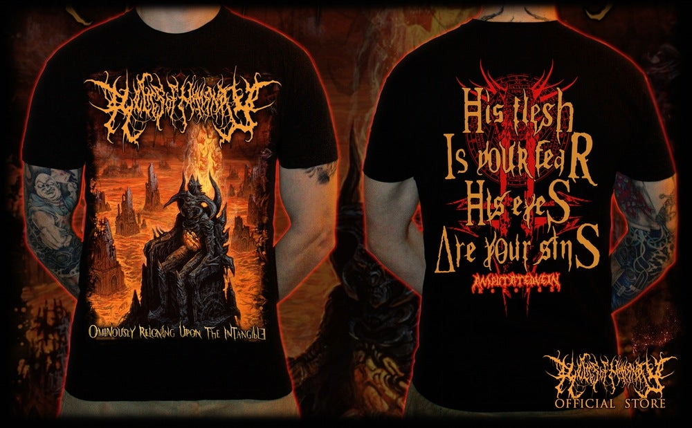 Image of RELICS OF HUMANITY -Ominously Reigning Upon The Intangible T-Shirt [Size S]