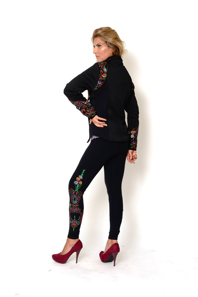 Image of Green Infusion Leggings FW6000