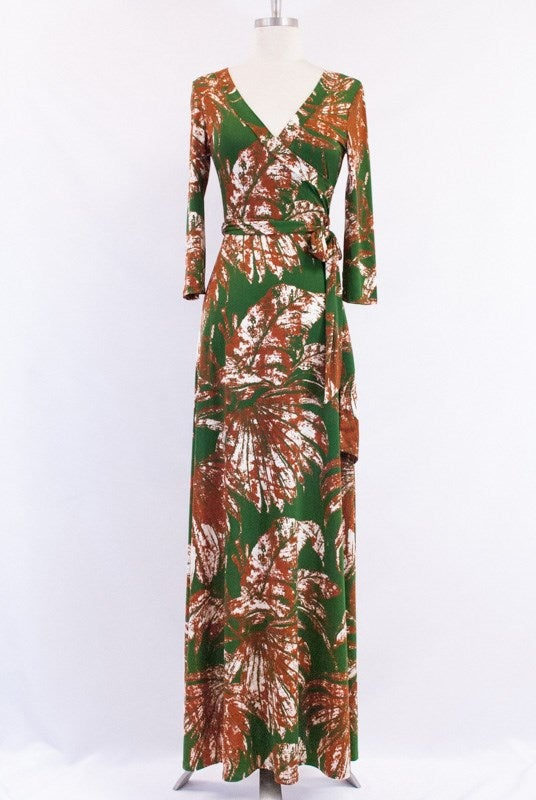Image of GREEN WITH ENVY MAXI DRESS