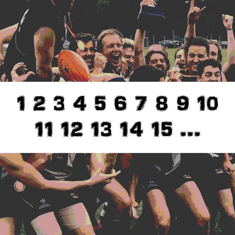 Image of Numberprint