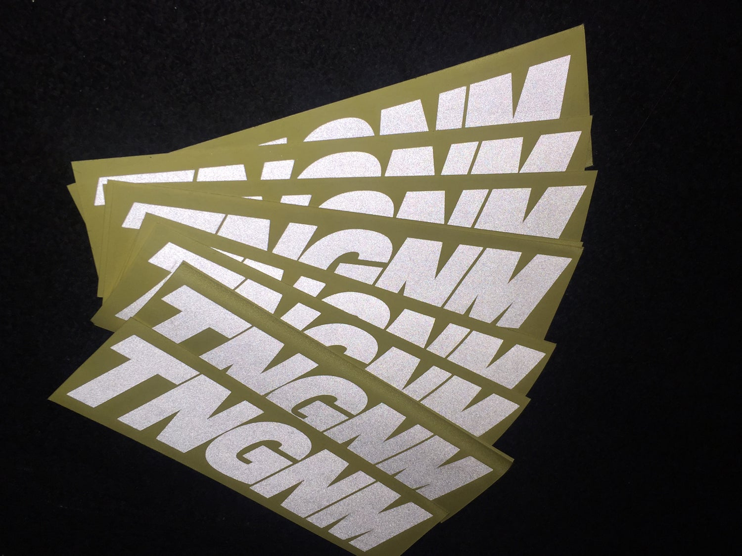 Image of TNGNM 3m Relfective Decal 7x3