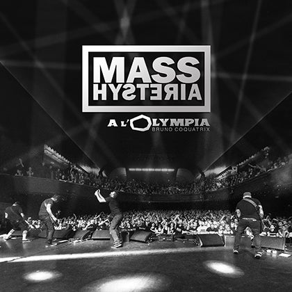 Image of MASS HYSTERIA - À l'Olympia - 2CD Digipack + DVD