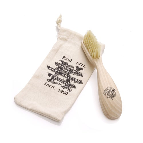 Image of Beard Brush in a Bag and Gift Box