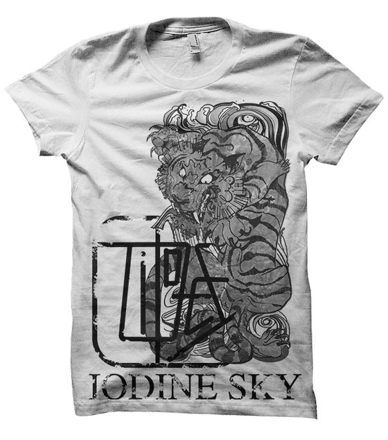 Image of Iodine Sky Tides album T-Shirt