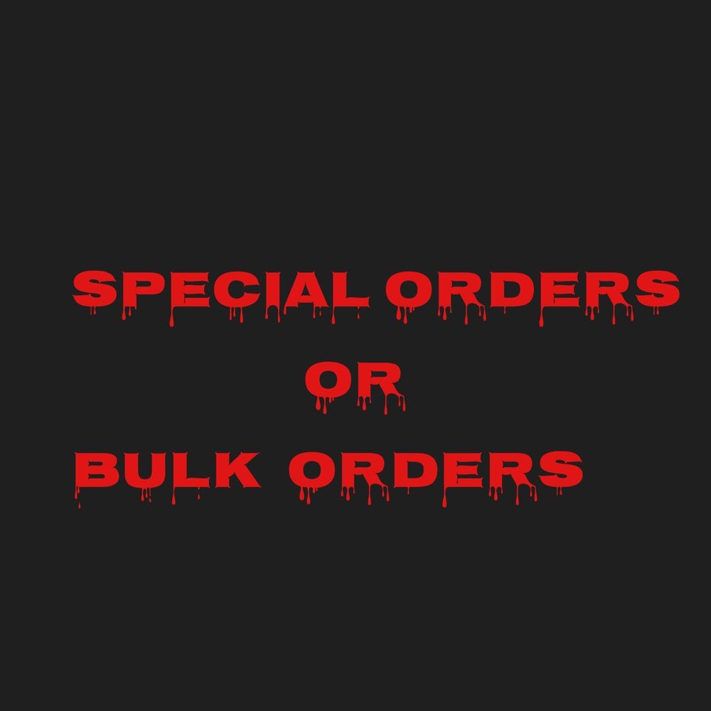 Image of Special orders