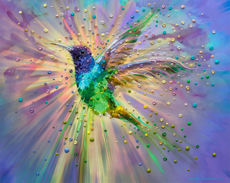 The Energy Art Store By Julia Watkins Hummingbird Magic