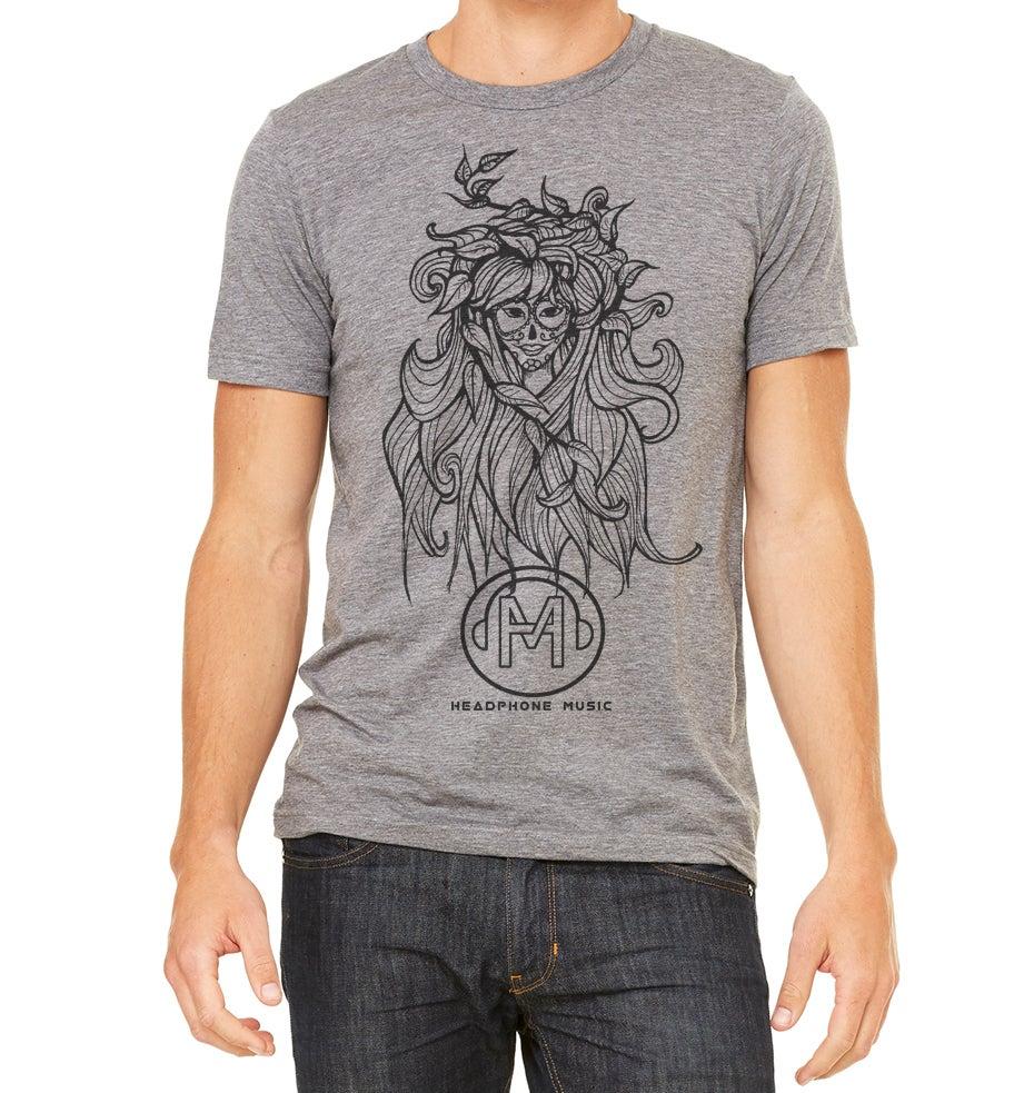Image of Headphone music T-shirt