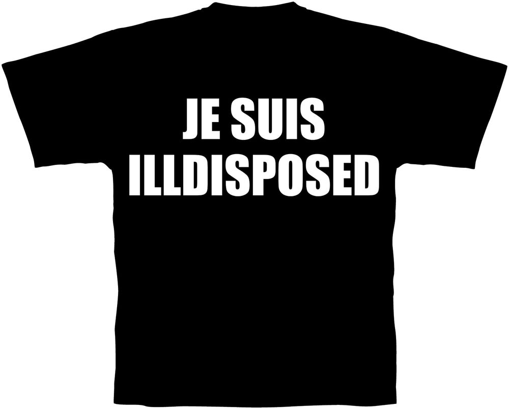 Image of Je Suis Illdisposed (T-shirt)