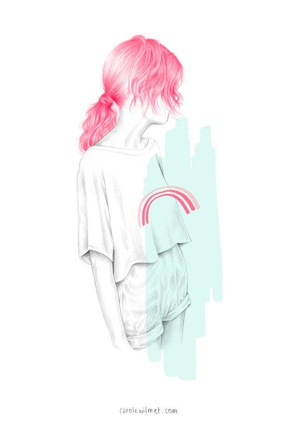 "Image of ""Pinkie"" Print"
