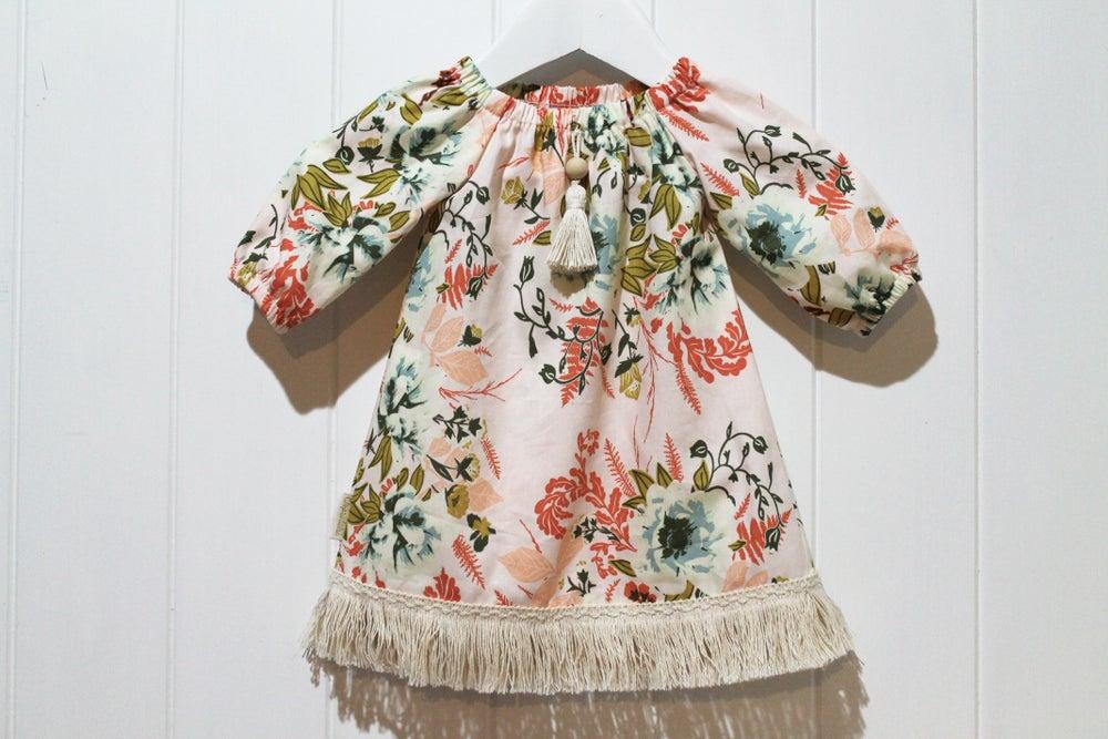 Image of Autumn Love - Boho Tassel Dress