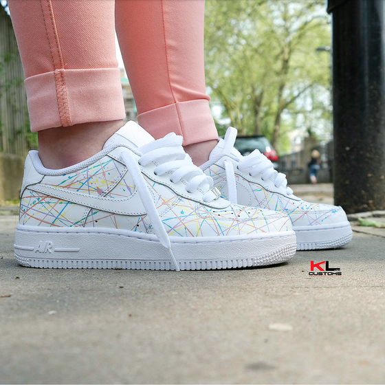Image of NIKE AIR FORCE 1 PERSONAL 5 ART ATTACK