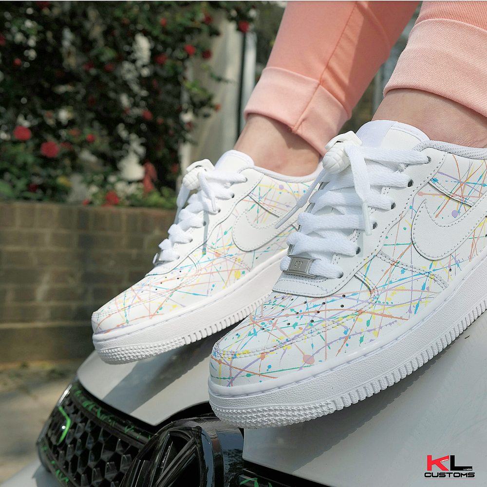 Image of NIKE AIR FORCE 1 SUMMER SPLASH ART ATTACK