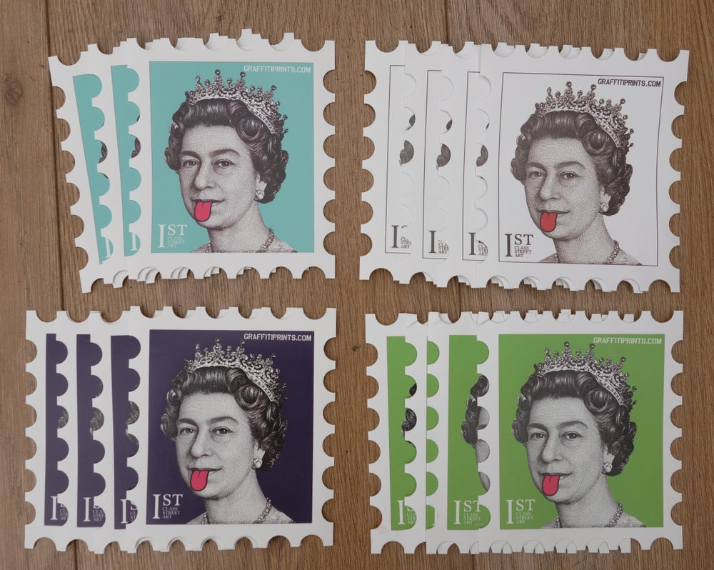 Image of NEW COLOURS - QUEEN STICKER PACKS