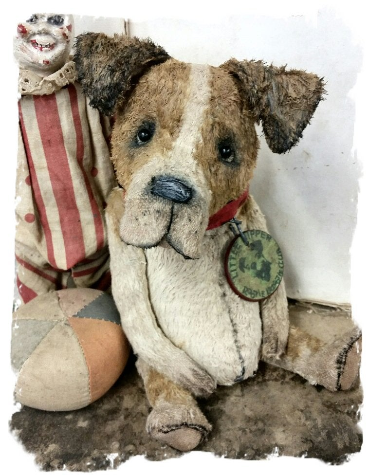 "Image of ""Scatter Sunshine"" Jack Russell Terrier Dog ~ 8"" size - *  Whendi's Bears"