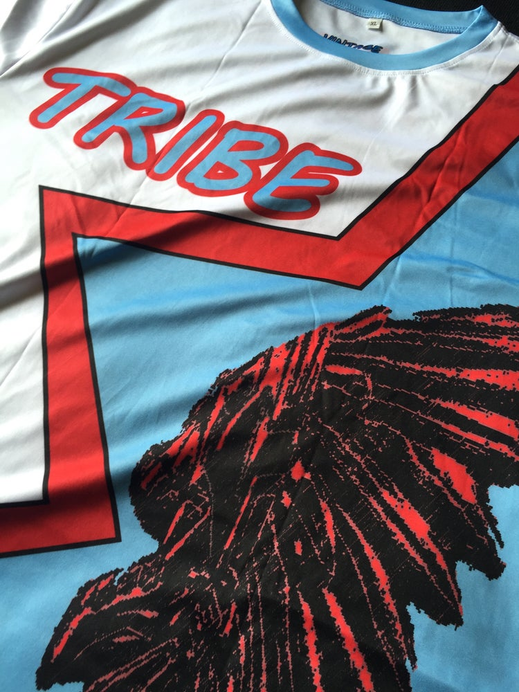 """Image of Tribe short sleeve soccer jersey """"HTOWN"""""""