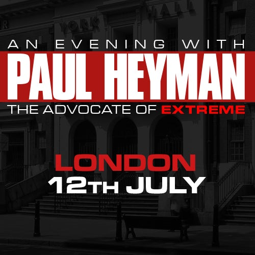 Image of London: Paul Heyman