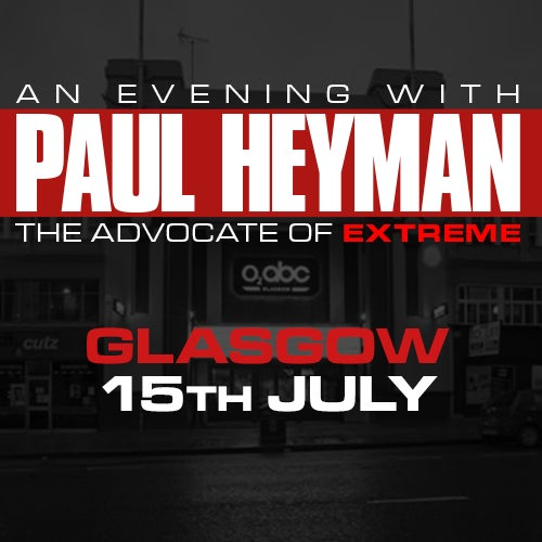 Image of Glasgow: Paul Heyman