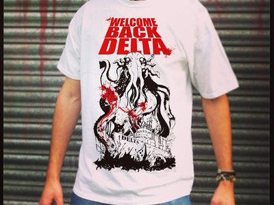 Image of Welcome Back Delta Cthulu T-shirt