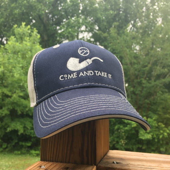 Image of Come and take it mesh back hat