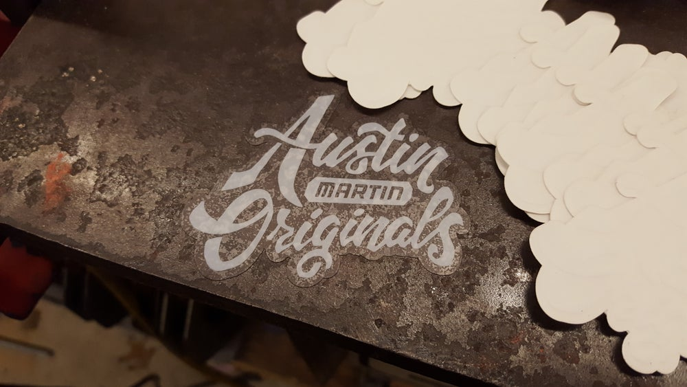 Image of Austin Martin Originals Shop Stickers