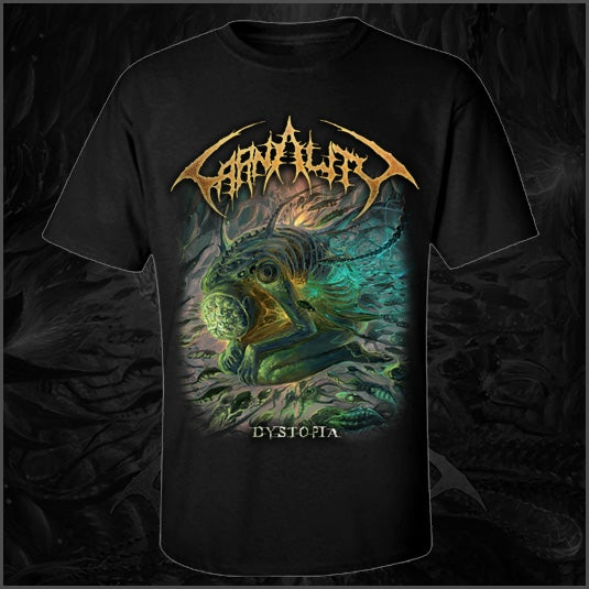 """Image of Carnality """"Dystopia"""" T-Shirt"""