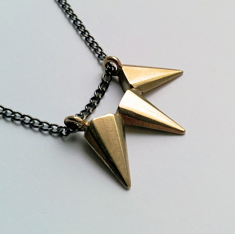 Image of Triple Deco Spike Pendant