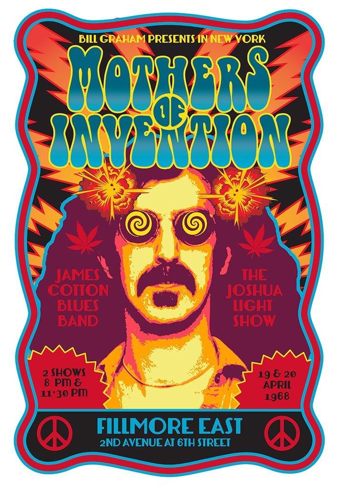 Image of The MOTHERS of INVENTION Fillmore East 1968