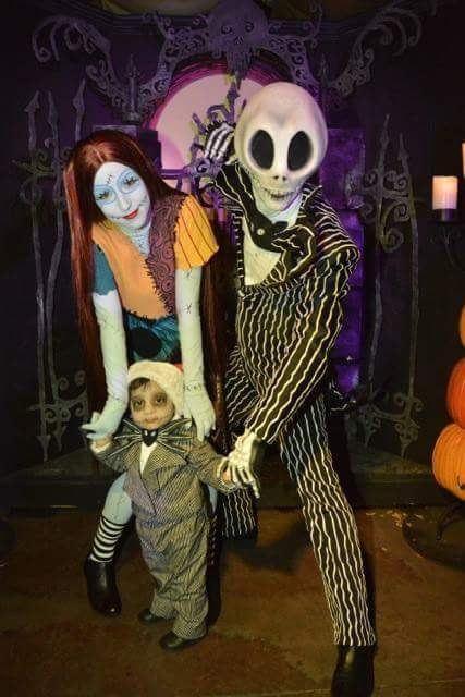 Image of Child Jack Skellington Costume Custom Made
